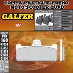 FD168G1003 PASTIGLIE FRENO GALFER GP ANTERIORI HONDA VTR 1000 SP-1 KIT 00-01