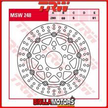 MSW248 DISCO FRENO ANTERIORE TRW Suzuki GSX 600 F 2003-2004 [FLOTTANTE - ]
