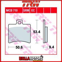MCB710 PASTIGLIE FRENO POSTERIORE TRW Generic (KSR Moto) 125 Code - [ORGANICA- ]