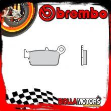 07HO2608 PASTIGLIE FRENO POSTERIORE BREMBO FANTIC MOTOR MX REGOLARITࡃOMPETIZIONE 2008- 50CC [08 - ROAD CARBON CERAMIC]