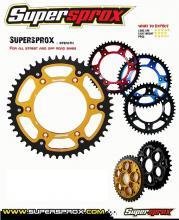 RST-1512.49-RED CORONA SUPERSPROX STEALTH ROSSO 49/520 BETAMOTOR RR EN (Mot.KTM) 250cc 05/11