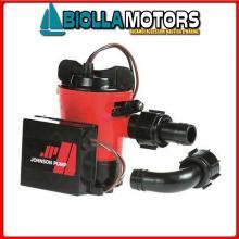 1822405 POMPA JOHNSON AUTO L550UC 600GPH 12V Pompe di Sentina Johnson Automatic
