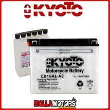 712165 BATTERIA KYOTO YB16AL-A2 [SENZA ACIDO] YB16ALA2 MOTO SCOOTER QUAD CROSS [SENZA ACIDO]