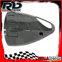 368000Q PROTEZIONE COLLETTORE YAMAHA T-MAX 500 CARBURATORE 2001-2007 CARBON LOOK