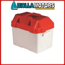 2030004 CASSETTA BATTERIA 330x230x260 Portabatteria in ABS (50A)