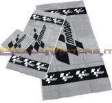 MGPTOW07 Set di asciugamani (Nero / Bianco / Grigio)