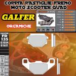 FD135G1054 PASTIGLIE FRENO GALFER ORGANICHE ANTERIORI GILERA RUNNER 50 SP 05-05