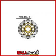 659404X DISCO FRENO ANTERIORE DX-SX NG DUCATI SuperSport (906SC2) 900CC 1989/1990 404X 298-80-64-4-6-8,5 Wave