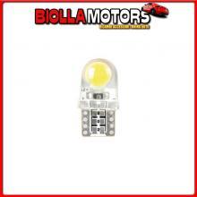 58409 PILOT 12V LED SERIES - 6 LED COB - (T10) - W2,1X9,5D - 2 PZ - SCATOLA - BIANCO