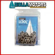 3214292 CONFEZIONE BASETTA LOXX/TENAX+VITI 10PZ 10 Basette Attacco Loxx - Tenax in Blister