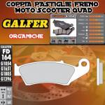 FD164G1054 PASTIGLIE FRENO GALFER ORGANICHE ANTERIORI HONDA XL 600 V TRANSALP IZQ. 97-99
