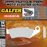 FD164G1054 PASTIGLIE FRENO GALFER ORGANICHE ANTERIORI APRILIA RXV 550 07-