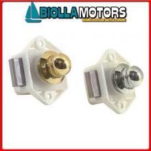 0343116 CHIUSURA D16 COMPACT OTTONE CR Chiusura a Pulsante F&S Compact