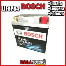 LTX14L-BS BATTERIA LITIO BOSCH YTX14L-BS LifePo4 0986122623 YTX14LBS MOTO SCOOTER QUAD CROSS