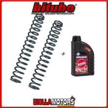 MT03 KIT MOLLE FORCELLA 1,0Kg/mm BITUBO TRIUMPH SPEED TRIPLE 1050 2005-2010