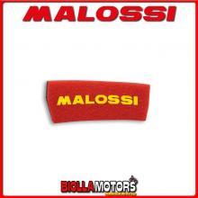 1414512 SPUGNA FILTRO ARIA MALOSSI APRILIA SCARABEO 50 2T (MINARELLI) DOPPIO STRATO DOUBLE RED SPONGE PER FILTRO ORIGINALE -