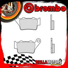 07BB0258 PASTIGLIE FRENO POSTERIORE BREMBO VERTEMATI CROSS 2002- 500CC [58 - GENUINE SINTER]