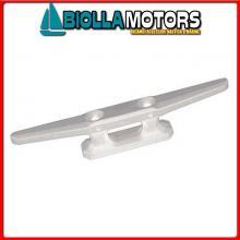 1111514 GALLOCCIA 145 WHITE Bitta Flat in Plastica Bianca