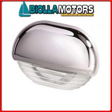 2146623 STEP LAMP 8560 CHROME CAP WH Luci di Cortesia Hella Easy Fit
