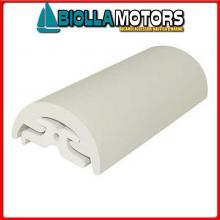 3833304 TERMINALE PROFILI R30 WHITE Bottazzo Profilo Parabordo Radial