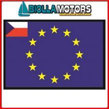 3403520 BANDIERA REPUBBLICA CECA UE 20X30CM Bandiera Repubblica Ceca UE