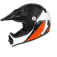 ESA 441839E CASCO CROSS BIMBO X2 TNT FASHION NERO/ARANCIO M