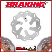 WF7527 DISCO FRENO POSTERIORE BRAKING APRILIA RS4 (AJP Rear Caliper) 50cc 2011-2014 WAVE FISSO