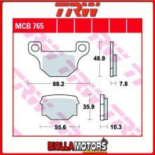 MCB765 PASTIGLIE FRENO ANTERIORE TRW Wuyang WY 125 125-12, 125-16C 2006- [ORGANICA- ]