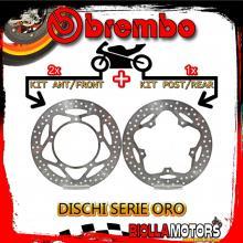 BRDISC-241 KIT DISCHI FRENO BREMBO APRILIA SRV 2012- 850CC [ANTERIORE+POSTERIORE] [FISSO/FISSO]