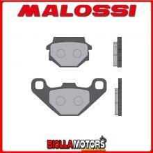 6216060BB COPPIA PASTIGLIE FRENO MALOSSI Posteriori AEON MOTOR COBRA 400 4T LC (V69C) SPORT Posteriori