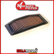 PM90S FILTRO ARIA SPRINTFILTER YAMAHA YZF R1 2009-2014 1000CC RACING SPORTIVO LAVABILE
