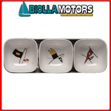 5802214 MB REGATA SET 3 CIOTOLE SNACK Set 3 Ciotole Snack