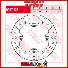 MST323 DISCO FRENO POSTERIORE TRW Suzuki LTZ 400 QuadSport 2002- [RIGIDO - ]