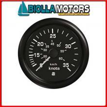 2360512 INDICATORE VEL BLACK 30KN 60512 Indicatori Velocità Uflex Ultra Black