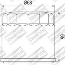 100609515 COF038 FILTRO OLIO SUZUKI LT-F500 FC-K5,K6,K7 Vinson 4x4 Manual Camouflage 05-06 (K301)
