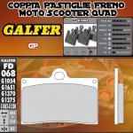 FD068G1003 PASTIGLIE FRENO GALFER GP ANTERIORI INDIAN MOTORCYCLE CHIEF BLACKHAWK DARK 11-