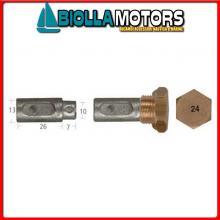 5127029 ANODO BARROTTO Barrotti Motore Aifo-Fiat (13x26+7mm)