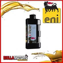 E154191 1 LITRO OLIO ENI I-RIDE RACING 2T SYNTHETIC TECH
