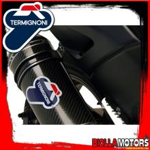Y099080CV EXHAUST FULL TERMIGNONI YAMAHA T MAX 530 2012-2016 RELEVANCE INOX/CARBON
