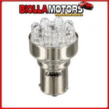 58371 PILOT 12V LAMPADA MULTI-LED 11 LED - (PY21W) - BAU15S - 1 PZ - SCATOLA - ARANCIO