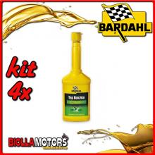KIT 4X 250ML BARDAHL TOP BENZINA ADDITIVO PER INIETTORI 250 ML - 4x 107019