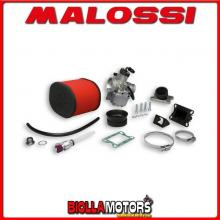 1613526 KIT CARBURATORE MALOSSI MHR TEAM VHST 28 YAMAHA DT 50 R 50 2T LC EURO 2 (MINARELLI AM 6) CON VALVOLA LAMELLARE -