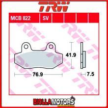 MCB822 PASTIGLIE FRENO ANTERIORE TRW Kymco 125 Nexxon 2008- [ORGANICA- ]