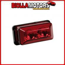 98392 LAMPA LUCE INGOMBRO A 2 LED, 24V - ROSSO