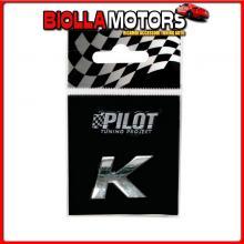 07921 PILOT 3D LETTERS TYPE-1 (18 MM) - K