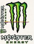 6250 Adesivo Monster Energy 3pz Standard 12x9,5 cm