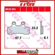 MCB844 PASTIGLIE FRENO ANTERIORE TRW Generic (KSR Moto) 50 Mini Trigger SM, X 2008- [ORGANICA- ]