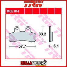 MCB844 PASTIGLIE FRENO POSTERIORE TRW Elstars 125 Blade 2010- [ORGANICA- ]