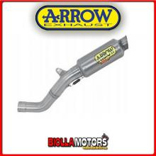 71520GPI MARMITTA ARROW GP2 APRILIA RSV4 RF 2015-2016 DARK/