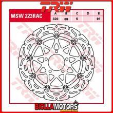MSW223RAC DISCO FRENO ANTERIORE TRW Suzuki GSXR 600 1997-2000 [FLOTTANTE - CON CONTOUR]